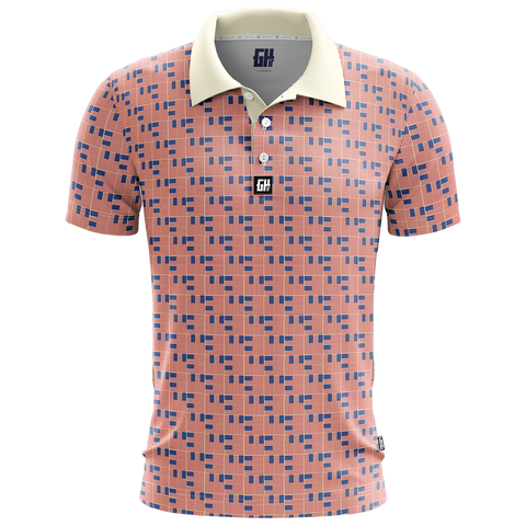 Woven Freedom Golf Polo