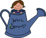 Image of Word Sprouts and watering can