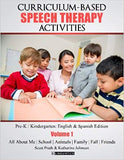 Curriculum-Based Speech Therapy Activities  VOLUME 1