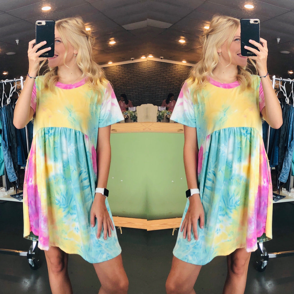 Tye_Dye Baby Doll Top