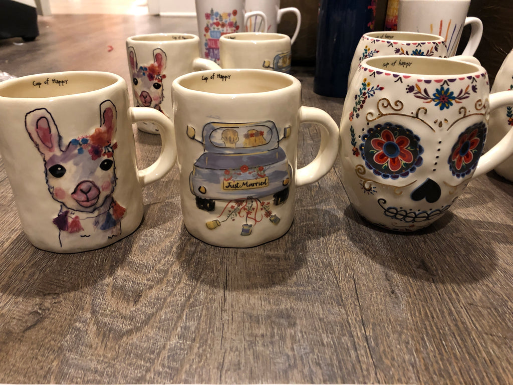 NL Embossed mugs