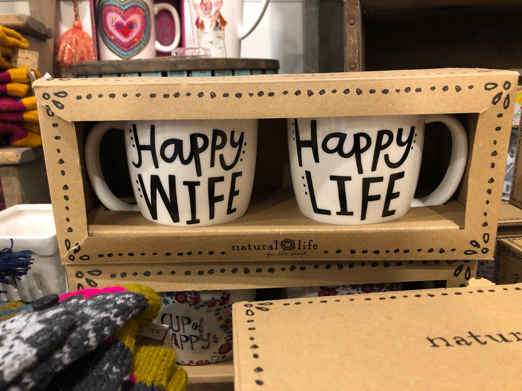 NL pair of coffee mugs