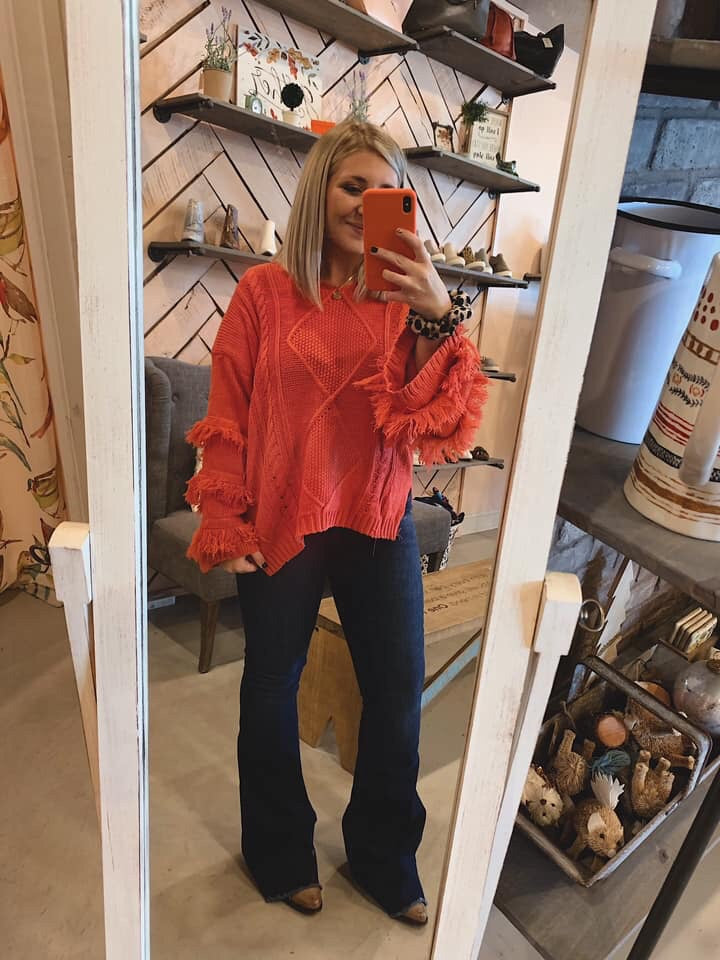 Cozy In Coral (reorder)