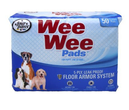 Four Paws Wee-Wee Pads 50 pack