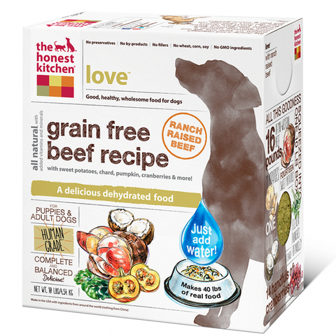 Honest Kitchen Dehydrated Grain-Free Dog Food