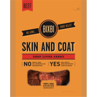 BIXBI - Beef Liver Jerky - Skin and Coat 15oz bag