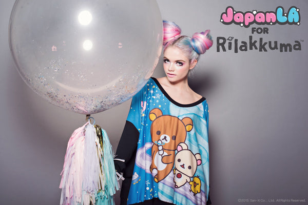 f42266659 JapanLA for Rilakkuma in Space Clothing Launch and Party!!