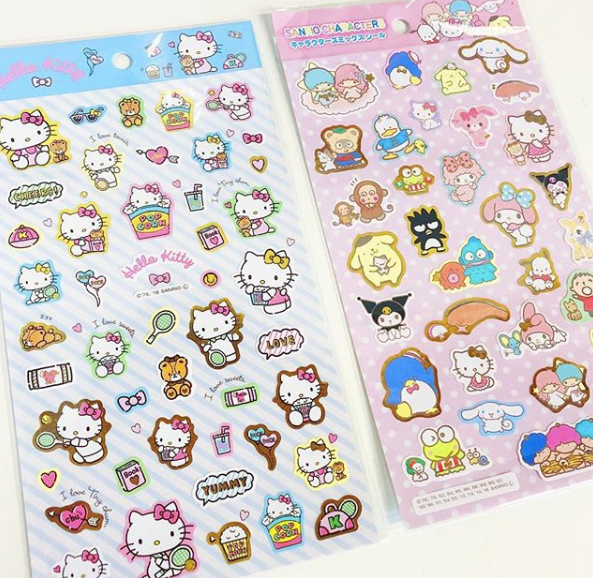 d31146a76 Wrap the cutest gifts with these Sanrio Wrapping Paper Packs! Comes with  two rolls of 17.5