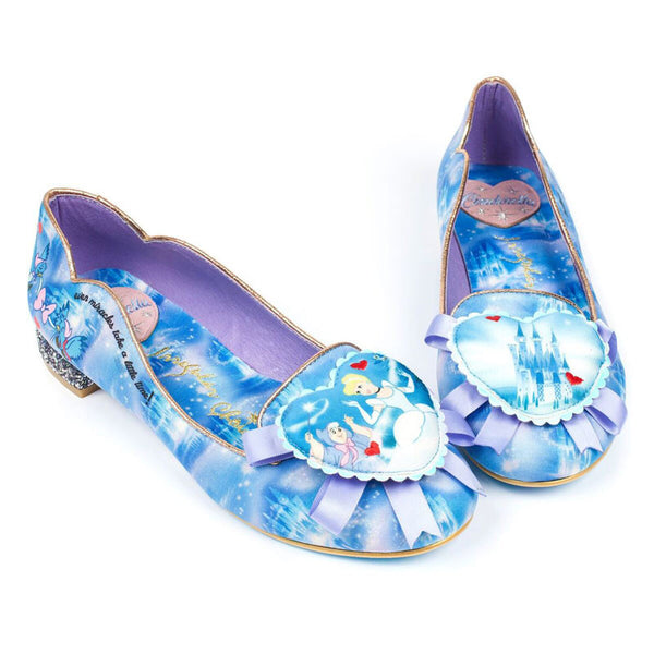 Sparkly Cinderella Shoes Launching