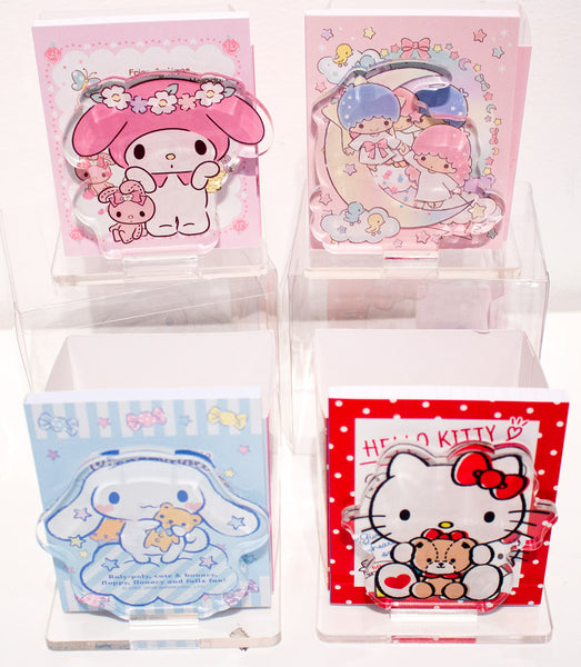 Sanrio Desk Drawer With Notepad Comes With Character Notepad And Cute Box  With Drawer, $24.
