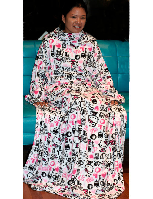 ed90b65a7 We are having a Sale on the Hello Kitty Couch Set (aka Snuggie). It also  comes with slippers. Regular price is $30, but on Friday, it will be only  $20.