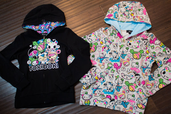 New Tokidoki X Hello Kitty Cactus Pets Tees Hoodies