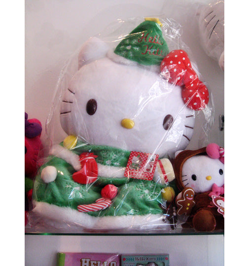 One of my favorite plushes I have seen in a really long time is the Hello  Kitty holiday gingerbread plush and it is available now for  19.95. 27dc61d424