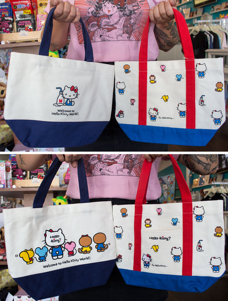 7d5d9f7353 NEW Hello Kitty Japan Bags and Pouches! Sanrio Characters too ...