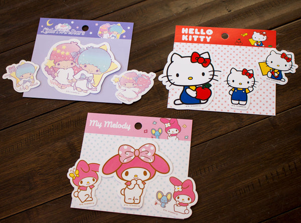 f8d168648 Decorate your notebooks with these cute Sanrio Sticker Sheets! Available in Hello  Kitty and Mixed Character, $1.85 each.