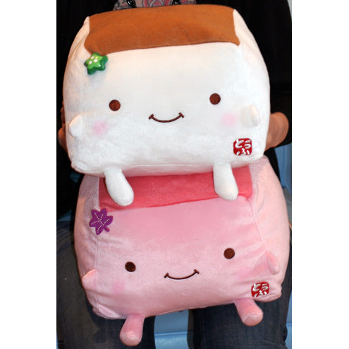 Cute Tofu Pillow : Limited DomoKun! Mario For Girls! Random Stuff We Like! ? JapanLA