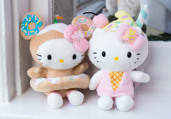 These new tokidoki for Hello Kitty Plush are so sweet! These will look  super cute sitting up on your desk,  17.50 each. 76806bf6da