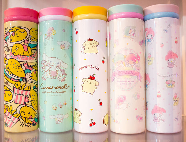 31362cfc41 These Sanrio Metal Thermos Bentos are great for keeping your food warm for  lunch and are the perfect portion size! Available in Hello Kitty, My  Melody, ...