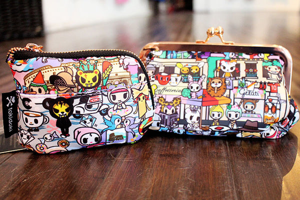 71666f5e0fa ... Kiss Lock Coin Purse  24. Carry around your makeup essentials in this  super cute tokidoki Roma Cosmetic Case,  38.