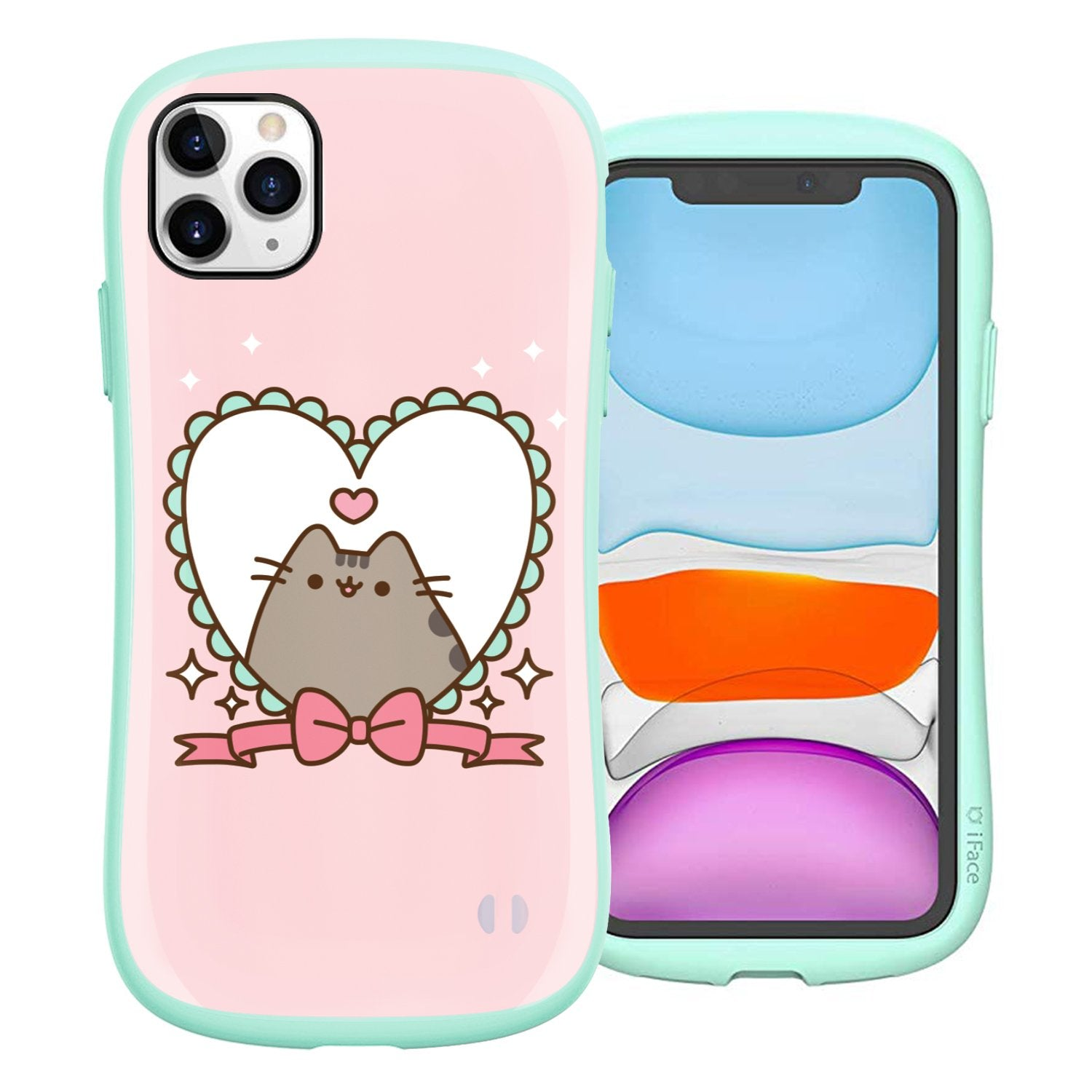 Pusheen Heart Frame iPhone 11 Pro Case