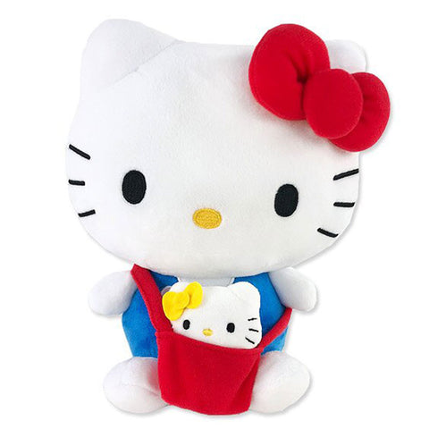 "Hello Kitty Carrying Mini Doll in Bag 8"" Plush"