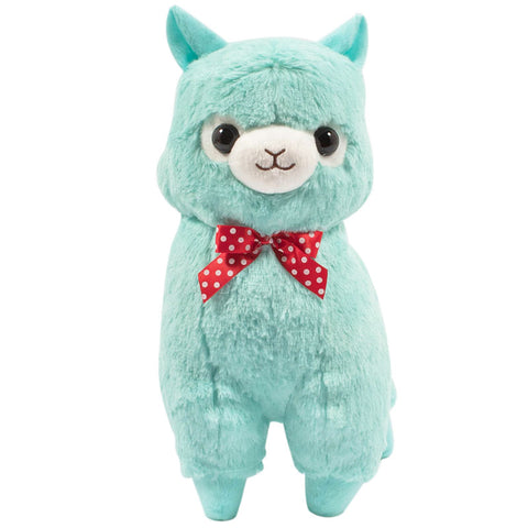 Teal Alpacasso Medium Plush