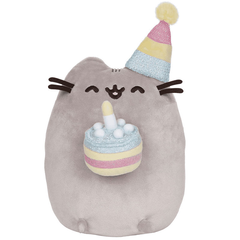 "Pusheen Birthday Cake 9.5"" Plush"