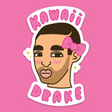 Kawaii Drake Sticker