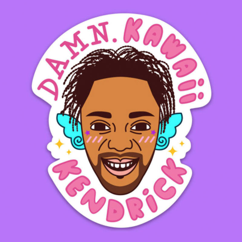 Kawaii Kendrick Sticker