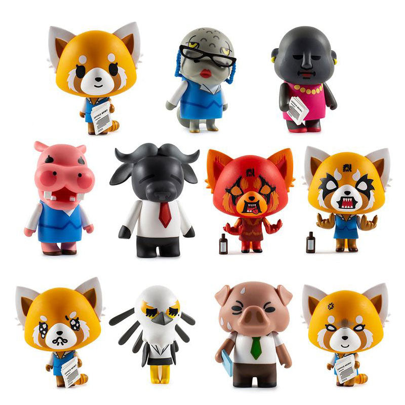 Aggretsuko Vinyl Figures Blind Box
