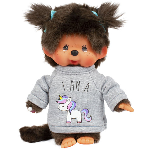 Monchhichi Unicorn Sweater Plush