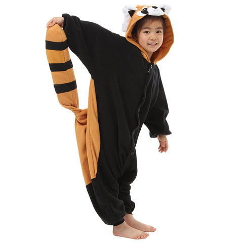 Kids Red Panda Kigurumi