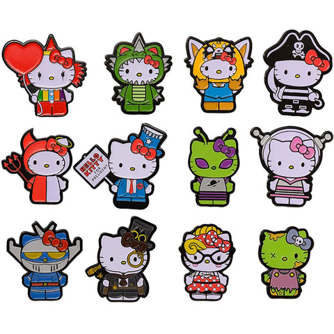 kidrobot x Hello Kitty Time to Shine Enamel Pin Blind Box