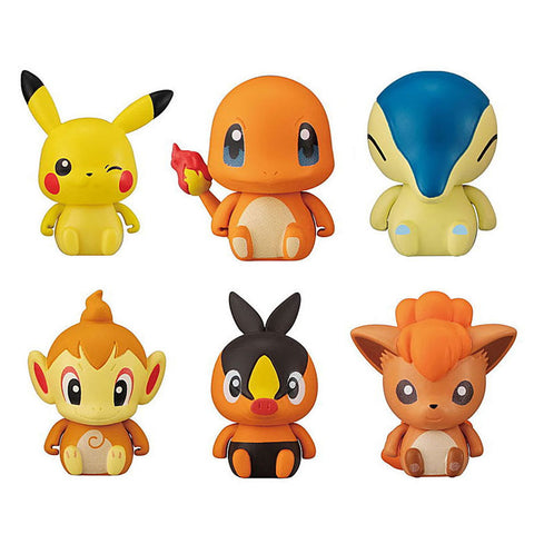 Pokemon Fire Type Gashapon Capsule