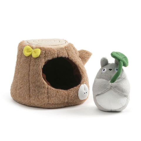 Totoro Small Tree Trunk Plush Set