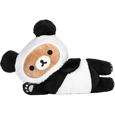 Rilakkuma Panda Laying Down Plush