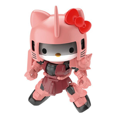 Gundam x Hello Kitty MS-06S Char's Zaku II Model Kit