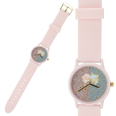 Little Twin Stars Glitter Wristwatch