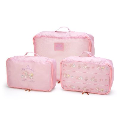 My Melody Travel 3-Piece Inner Case Set