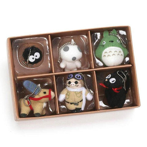 Studio Ghibli Plush Collector Keychain Set