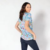 Watercolor Ponies Boy Fit Women's Tee