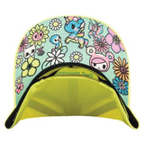 Wonderland Yellow Snapback