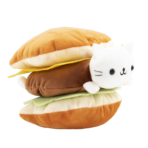 Nyanko Cheeseburger Plush