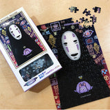 No Face Mini Art Crystal Jigsaw Puzzle