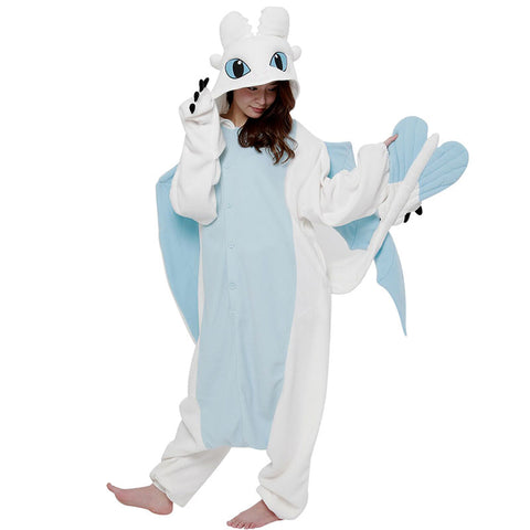 Light Fury Kigurumi