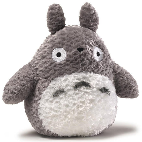 Totoro Medium Grey Fluffy Plush