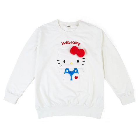 Hello Kitty Plush Mascot Sweatshirt