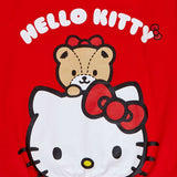 Hello Kitty Back Print Zip Up Hoodie