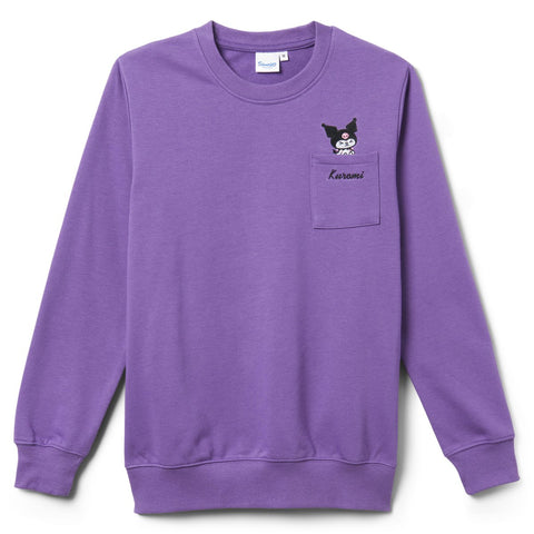 Kuromi French Terry Pullover Sweater