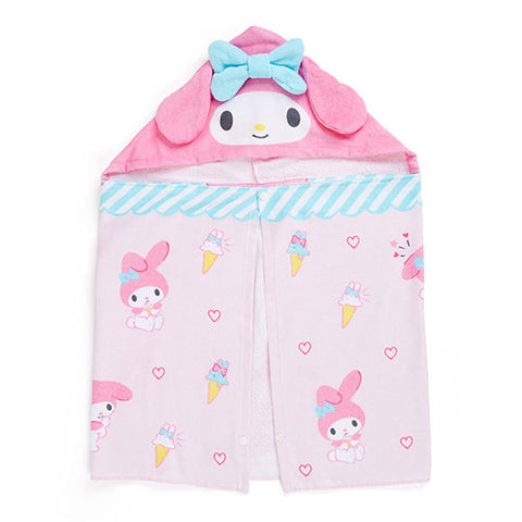 My Melody Ice Cream Hooded Towel